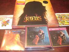 JANIS JOPLIN 4 LP REPLICA JAPAN RARE 2007 OBI CD Box Set + COLLECTORS 4 LP SET
