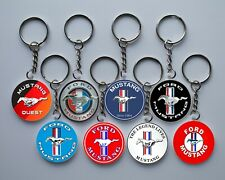 Ford Mustang keychain.