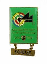 #e6333 DDR Abzeichen Weltmeisterschaften im Sportschiessen Suhl 1986 # Schütze