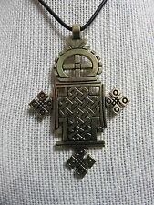 African Jewelry LARGE HIP HOP ETHIOPIAN STYLE ORTHODOX CHRISTIAN COPTIC CROSS M
