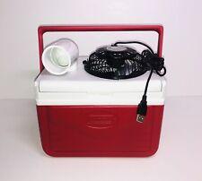 "Mini Coleman 5qt Personal Swamp Cooler Portable Fan Air Conditioner 4"" Usb Fan"