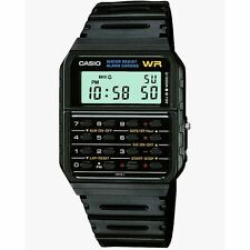 Casio Black 8-digit Calculator Resin Strap Alarm Stopwatch