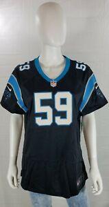 Luke Kuechly Carolina Panthers Womens Jersey Short Sleeve Size XL MSRP $100 NWT
