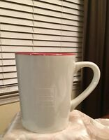 Wells Fargo Ivory and Red Coffee Cup Mug