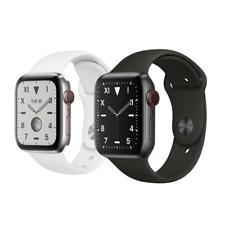 Reloj de Apple serie 5 edición 44mm GPS espacio de titanio celular Negro o Plata