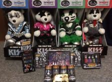 KISS lot! Dynasty Bears, MiniMates, Lunch Box, Pez, Die-Cast Set, Flash Drives