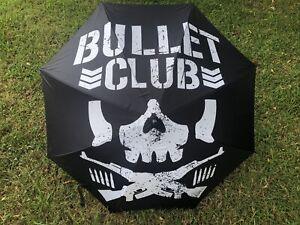 RARE Marty Scurll Bullet Club Umbrella AEW ROH New Japan Wrestling WWF Wcw Ecw