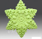 Snowflake Silicone Soap mold Craft Molds DIY Handmade Candle mould New