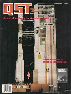 QST Magazine Amateur Radio Ham Magazine - OCTOBER 1988 - 200 PAGES