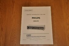 Philips 22RS291 Clock Radio Workshop Service Manual
