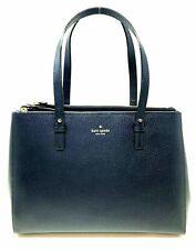 Kate Spade Reena Grand Street Oceano Navy Tote Leather Handbag Bag WKRU4850 $478