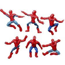6 pcs spiderman action figures nouveaux jouets Set Cadeau