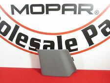DODGE RAM 1500 2500 3500 RIGHT Side Slate Gray Seat Belt Anchor Cover OEM MOPAR