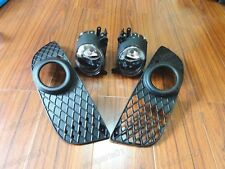 Front Fog Lamp Spot Lights + Covers Kits For Mitsubishi Lancer CJ 2007.9-2012