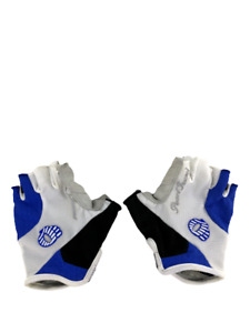 Pearl Izumi Womens Cycling Bike Gloves Elite Gel Fingerless White Medium