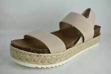 MADDEN GIRL Size 7.5, Cybell Nude Fab Sandals