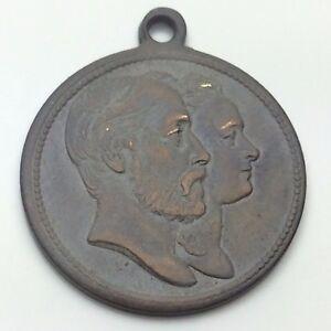 Royalty Medallion Pendant The Duke Of Edinbourgh Grand Duchess Of Prussia C685 X