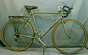 Trek 520 Vintage Touring Bike 1984 57 cm Large Reynolds Steel USA Made Charity!