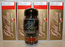 Factory Platinum Matched Quad Genalex Gold Lion KT88 tubes, BRAND NEW In Box !