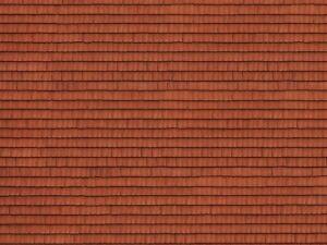 """HO Model Scenery - 56670 - 3D Cardboard Sheet """"Roof Tile"""""""