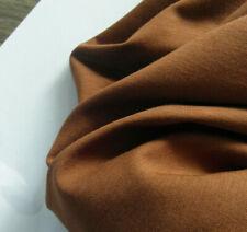 Jersey sustancia Jersey 48% algodón 48% modal 4% elastán en Cognac 1,58 x 1,70 metros