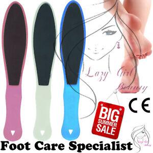 Foot Rasp File Scrubber Hard Dead-Rough Skin Callus Remover Dual Sided Pedicure