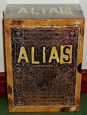 ALIAS-1-5TEMPORADAS COMPLETAS-30 DISCOS DVD-NUEVO-PRECINTADO-NEW-SEALED-SERIES