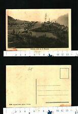 VALLARSA (TN) - SULLA VIA DI ROVERETO - PANORAMA - NON VIAGGIATA - RARA - 29296