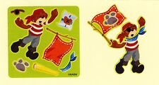 15 Make Your Own Build A Bear Pirate Stickers - Party Favors - Rewards