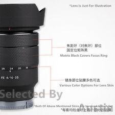 Lens Skin Decal Wrap Film For Sony FE 16-35 F4 ZA SEL1635Z Sticker Anti-scratch