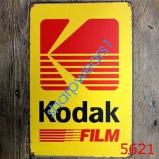 Metal Tin Sign kodak film Pub Bar Home Vintage Retro Poster Cafe ART