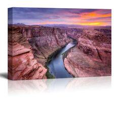 """Canvas Prints - Landscape Colorado River at Horseshoe Bend, Page, Az. -16"""" x 24"""""""