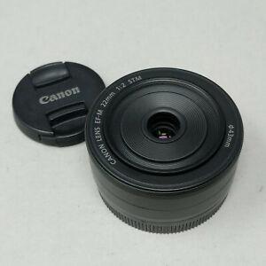 Canon EF-M 22mm f/2.0 STM Lens