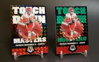 2020 Mosaic Patrick Mahomes Touchdown Masters Green and Silver Prizm Lot #TM8