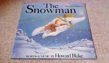 HOWARD BLAKE THE SNOWMAN OST 1st CBS US LP w/ POSTER 1983 Raymond Briggs SEALED