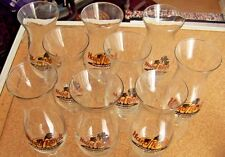 9 different Hard Rock Hurricane stem glasses HRC cafe glass Kona London Vegas NY