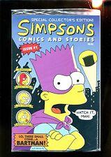SIMPSONS COMICS AND STORIES 1 SEALED W/ POSTER (9.8) BONGO COMICS (g000)