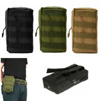 Tactical Molle Pouch Outdoor Military Accessory Waist Belt Bag Utility Pocket