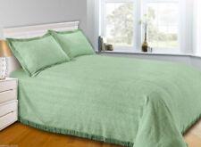 Mantas de color principal verde 100% algodón