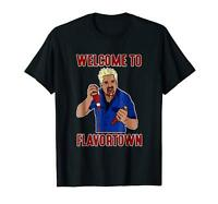 Guy Fieri Welcome To Flavor Town Black T-Shirt S-3XL