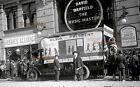 1916 NYC Democrats Women Wilson Wagon by Hughes Office Glass Camera Negative #5