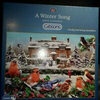 Gibsons A Winter Song by Greg Giordano 1000 piece christmas jigsaw puzzle
