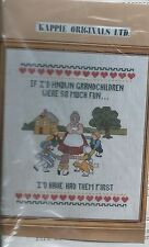 Kappie originals ltd. Cat 631-1-3 Cross Stitch Kit NIP
