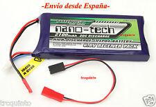 Batería Life, LifePo4 6,6v 2100mA 20C, especial receptores o emisoras