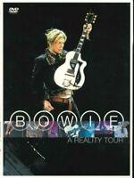"""DAVID BOWIE """"A Reality Tour"""" DVD"""