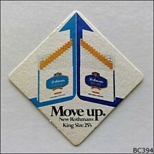 Move up. New Rothmans King Size 25's Coaster (B394)