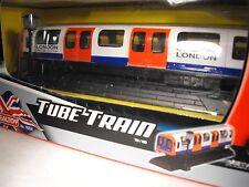 MODEL TUBE TRAIN MODEL LONDON TUBE TRAIN , london gift present , LONDON TUBE