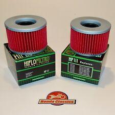 Honda TRX400 TRX500 TRX650 TRX680 Fourtrax Engine Oil Filter x 2 Set. KIT071