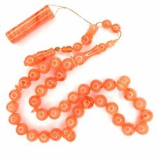 Turkish Amberoid Worry Beads SIKMA Kehribar Tesbih Prayer Tasbih Misbaha Eid 362