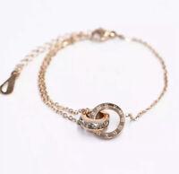 Armband Bracelet Armreif Römische Ziffern Zahlen  Luxus Edelstahl Gold Numbers